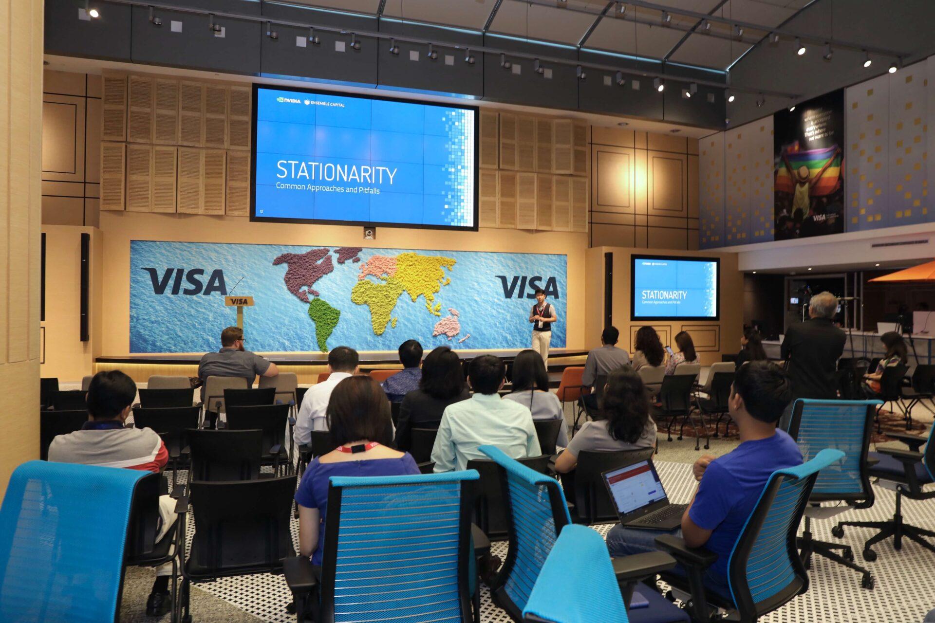 GPU Fractional Differencing Visa Data Summit