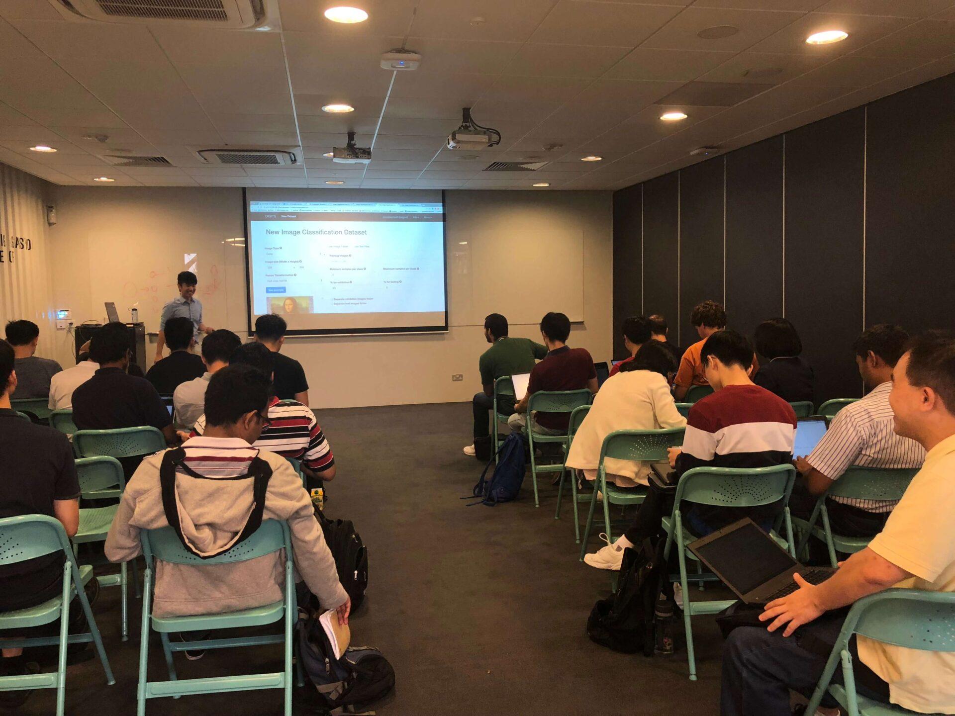 NVIDIA NUS DLI Image Classification Workshop 2018 2